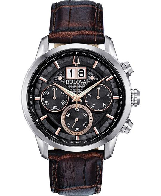 Bulova Sutton Black Watch 44mm