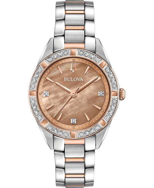Bulova Sutton Diamond Watch 32.5mm