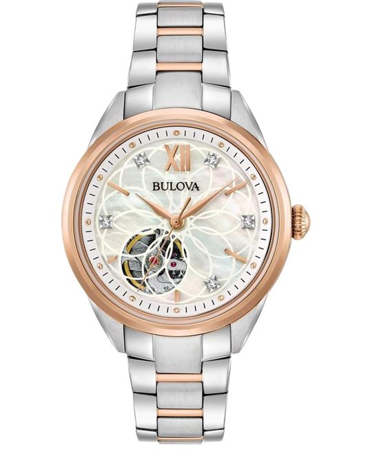 Bulova Sutton Diamond Women Watch 34mm