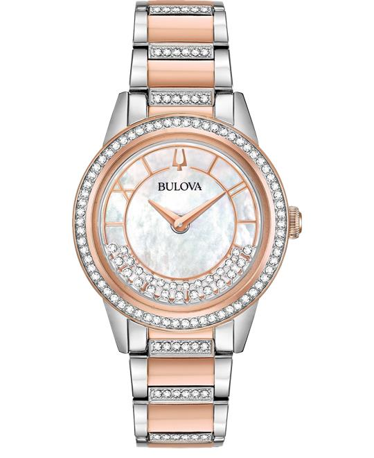 Bulova Turnstyle Mother of Pearl 33mm