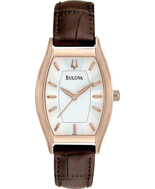 BULOVA Tonneau Classic Ladies Watch 26mm