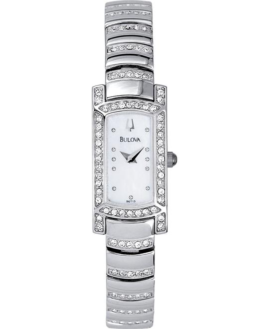 Bulova Crystal Women's Watch 15mm
