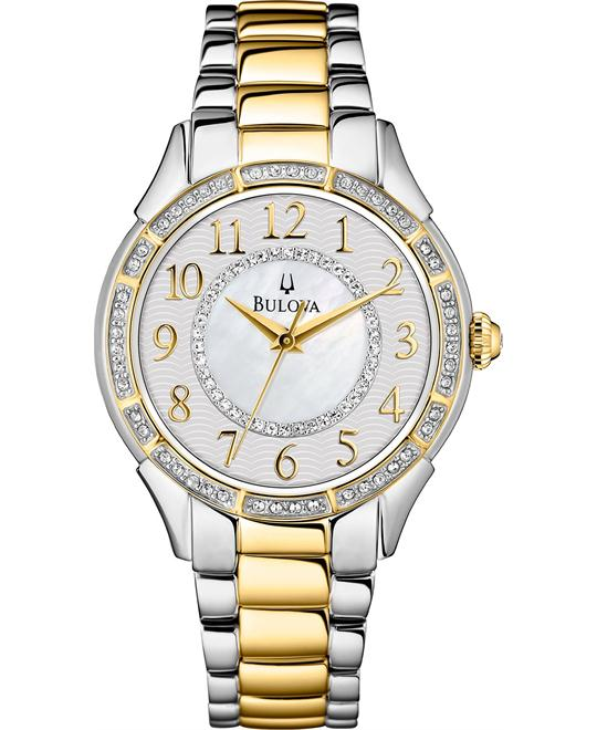 Bulova Crystal Women's Watch 33mm