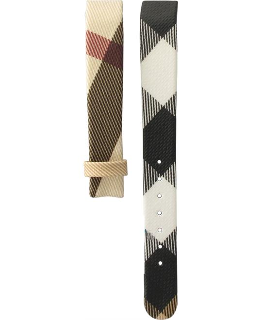 Burberry Leather Multicolour Original Strap 13mm