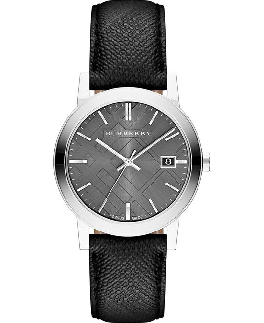Burberry The City Black Mens Watch 38mm