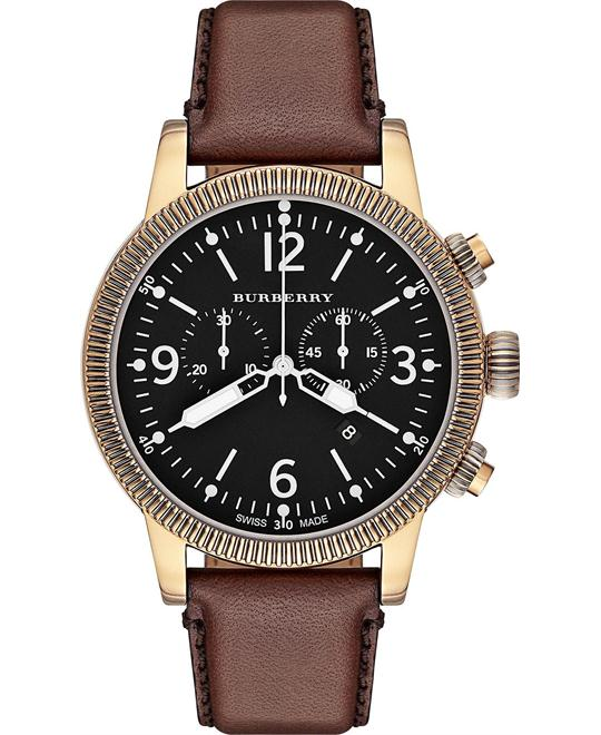 Burberry The Utilitarian Chronograph Watch 46mm