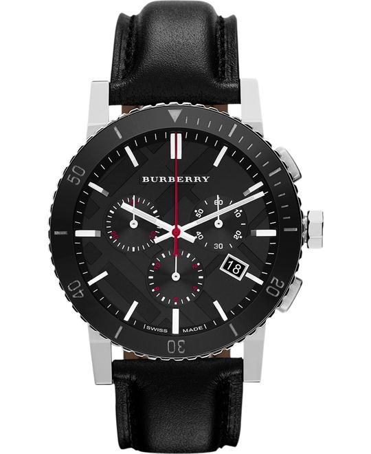 Burberry The City Black Dial Men's Watch 42mm