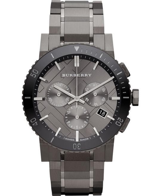Burberry The City Chronograph Stainless Steel Watch 42mm