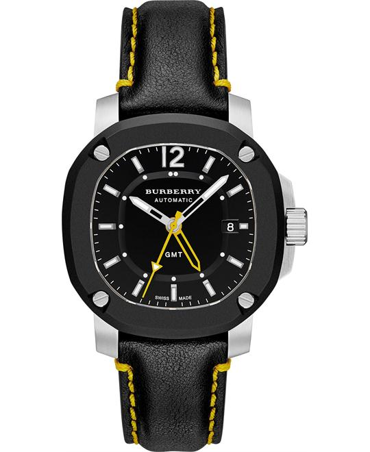 BURBERRY THE BRITAIN BBY1350 GMT AUTOMATIC 43MM