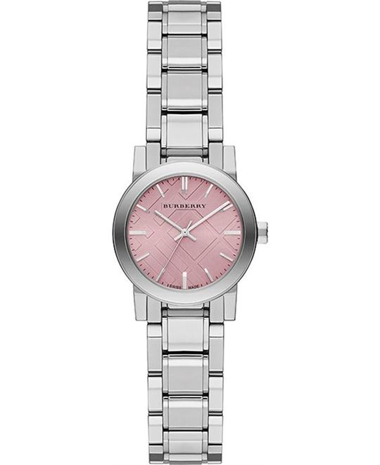 Burberry The City Pink Ladies Watch 27mm