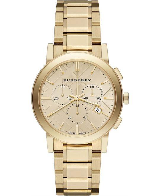 Burberry The City Swiss Chronograph Ladies Watch 38mm