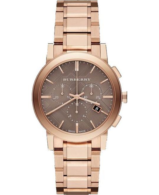 Burberry The City Unisex Stainless Watch 38mm