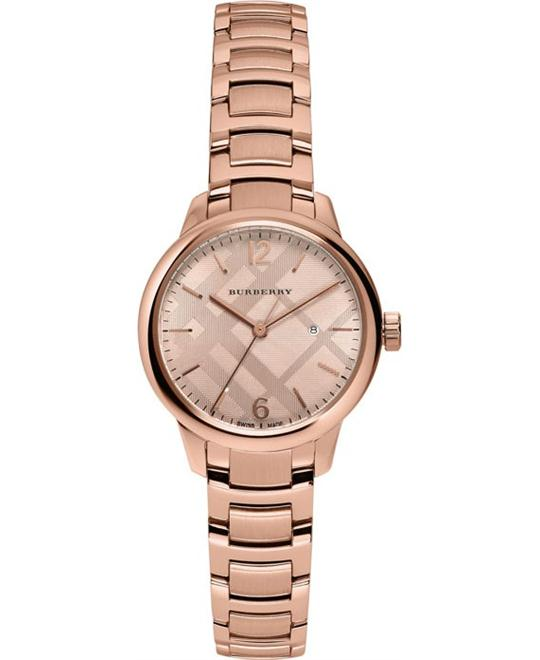 BURBERRY THE CLASSIC SWISS  WATCH 32MM