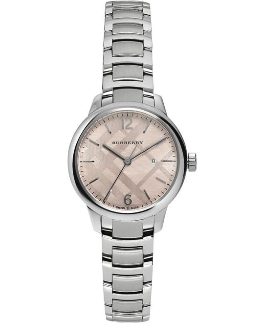 Burberry THE CLASSIC Women's Stainless Steel Bracelet Watch 32mm