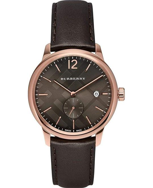 BURBERRY THE CLASSIC ROUND MEN'S WATCH 40MM