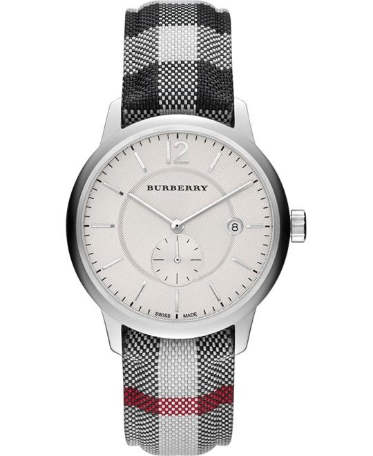 Burberry The Classic Round Silver Dial Men's Watch 40MM