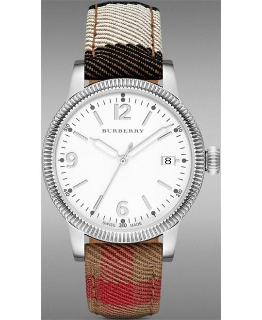 Burberry The Utilitarian Swiss Fabric 38mm