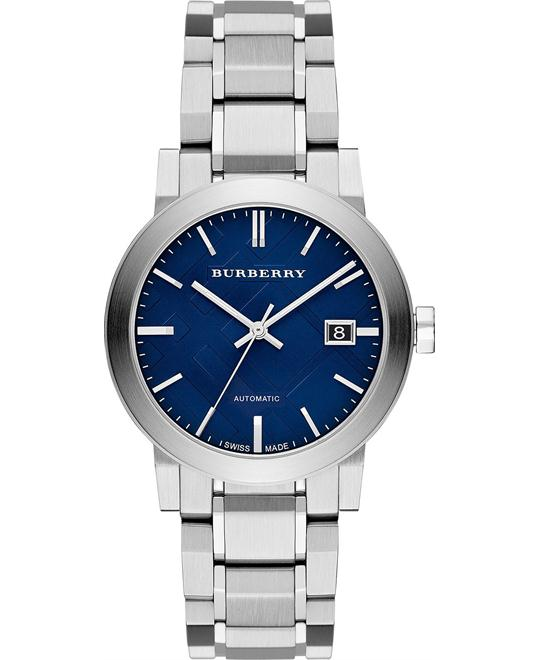 Burberry The City Swiss Automatic Unisex Watch 38mm