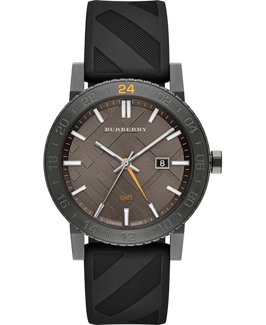Burberry The New City  Unisex  Black Rubber 42mm