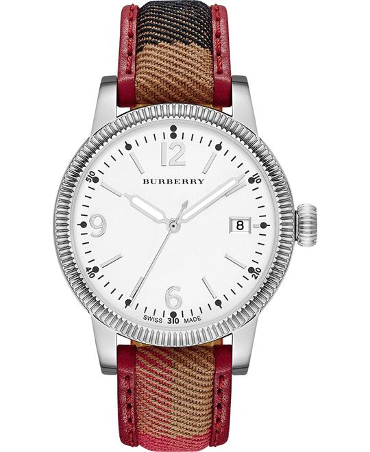 Burberry The Utilitarian Fabric Unisex Watch 38mm