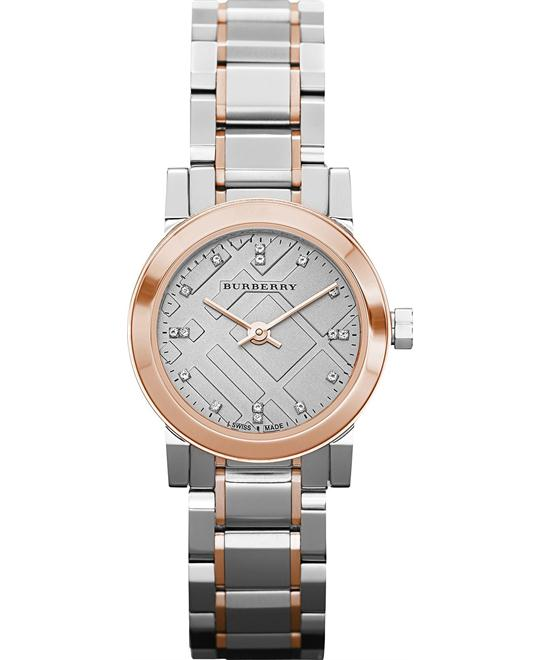 Burberry The City Swiss Diamond Watch 26mm