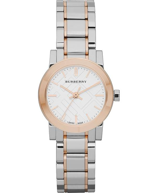 Burberry The City Women's Swiss Stainless Steel Watch 26mm