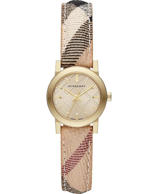 Burberry The City Women's Swiss Strap Watch 26mm