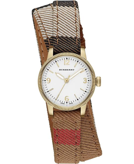 Burberry The Utilitarian Swiss Wrap Watch 30mm