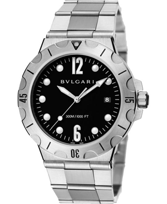 BVLGARI DIAGONO SCUBA 102323 DP41BSSSD 41MM