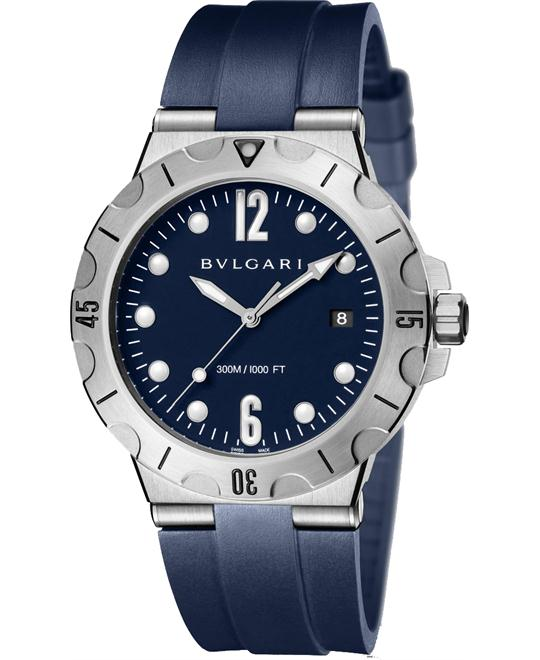 BVLGARI DIAGONO SCUBA 102504 DP41C3SVSD 40MM