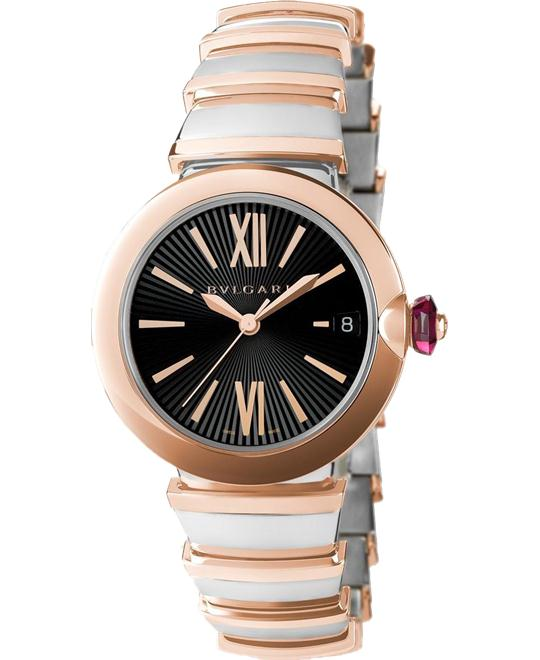 BVLGARI LVCEA 102192 LU33BSPGSPGD WATCH 33MM