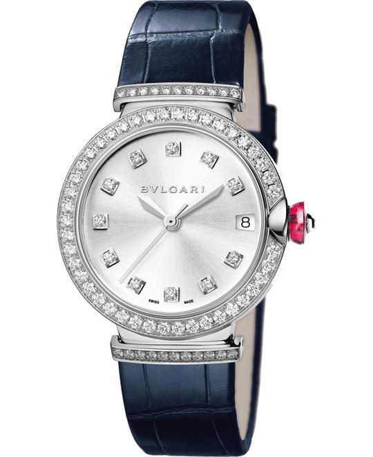 BVLGARI LVCEA 102389 LUW33C6GDLD/11 WATCH 33MM