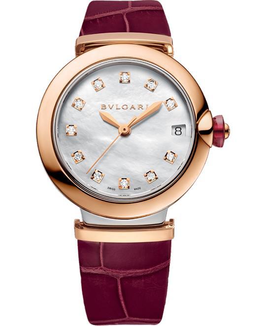 đồng hồ nữ BVLGARI LVCEA 102639 LU33WSPGLD/11 WATCH 33MM