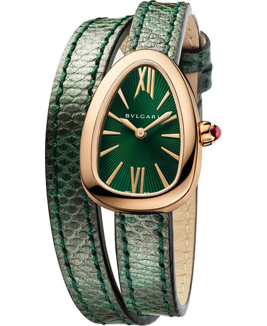 BVLGARI SERPENTI 102726 SPP27C4PGL WATCH 27MM