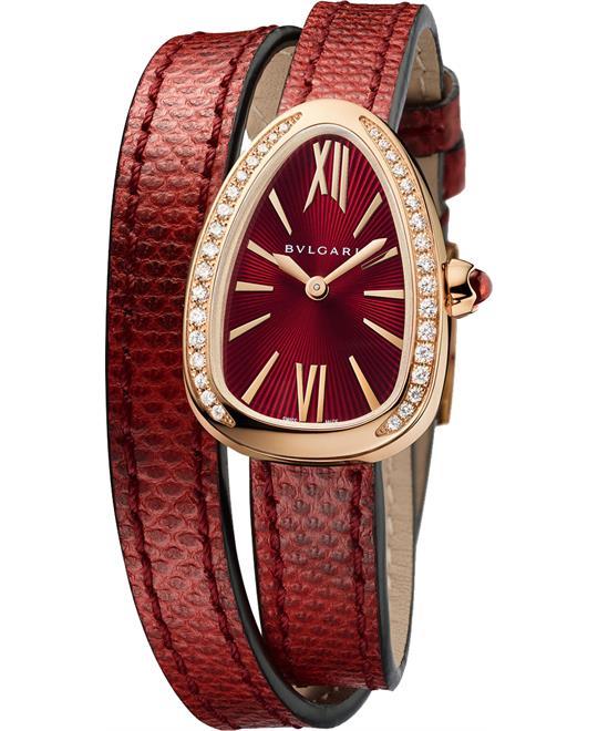 đồng hồ nữ đẹp BVLGARI SERPENTI 102730 SPP27C9PGDL WATCH 27MM