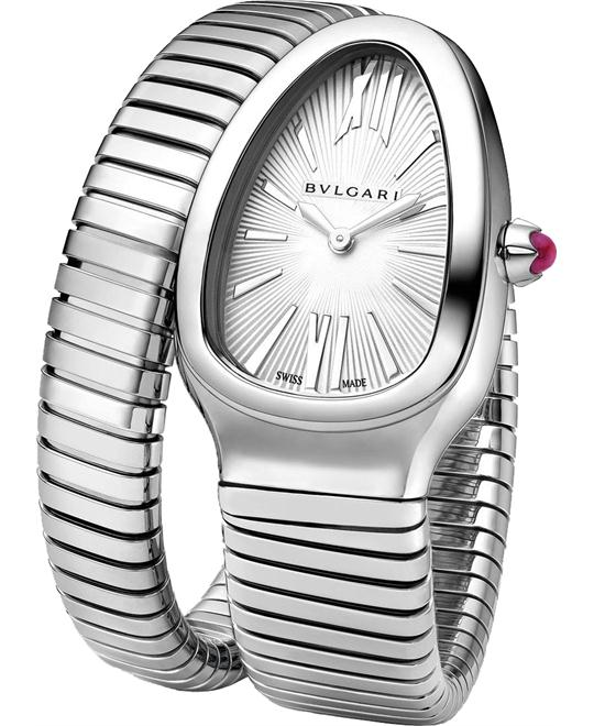 BVLGARI SERPENTI TUBOGAS 101817 SP35C6SS.1T 35MM