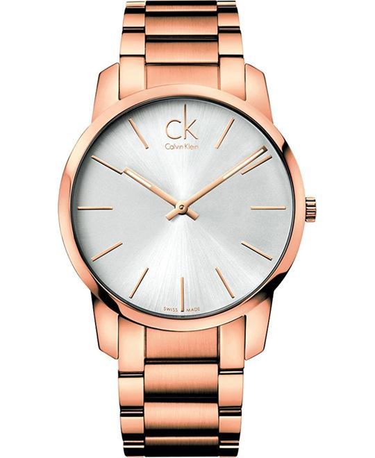 dong ho CALVIN KLEIN CITY MEN'S QUARTZ WATCH 43MM