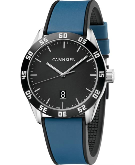 Calvin Klein Compete Silicone Watch 42mm