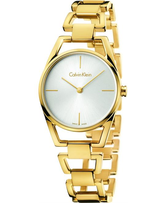 Calvin Klein Dainty Silver Dial Watch 30mm