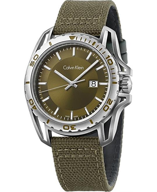 Calvin Klein Earth Green Watch 43mm