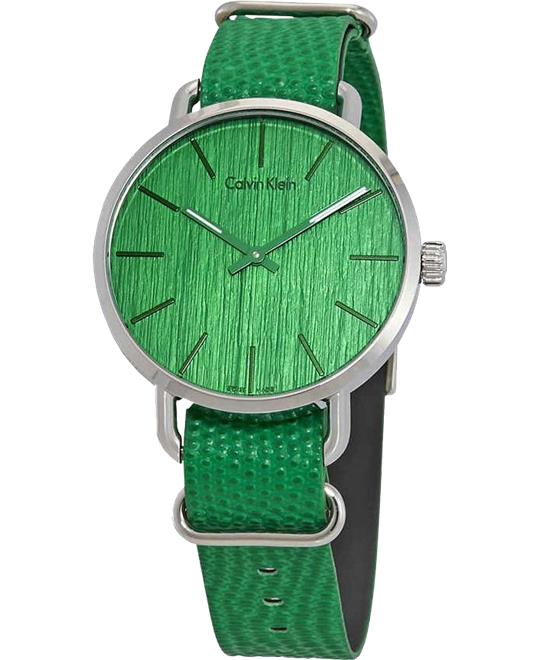 Calvin Klein Even Green Watch 42mm