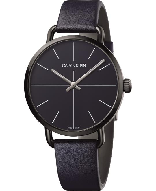 Calvin Klein Even Leather Watch 42mm