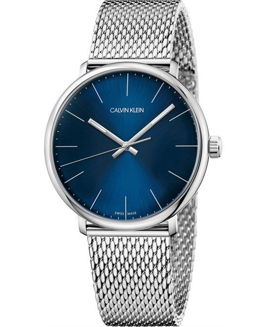 Calvin Klein High Noon Mesh Blue Watch 40mm