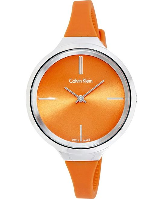 Calvin Klein Lively Orange Ladies Watch 34mm