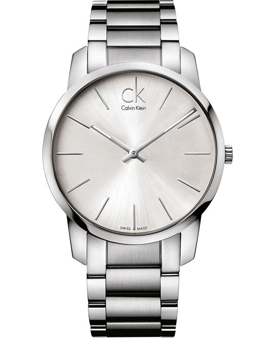 Calvin Klein Men's Swiss Stainless 43mm