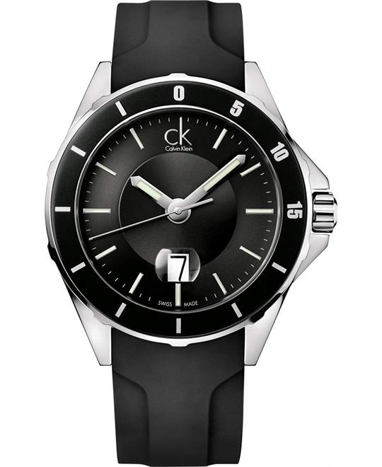 Calvin Klein Play Rubber Men's Watch 44mm