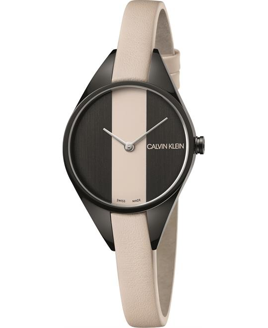 Calvin Klein Rebel Cream Watch 29mm
