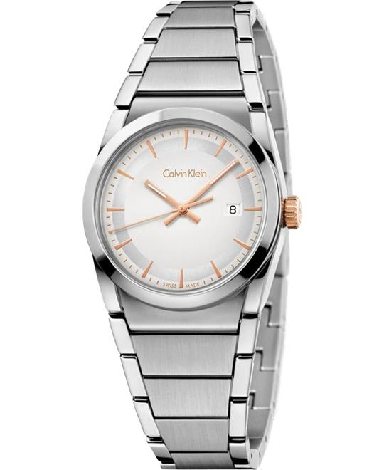 Calvin Klein Step White Watch 30mm