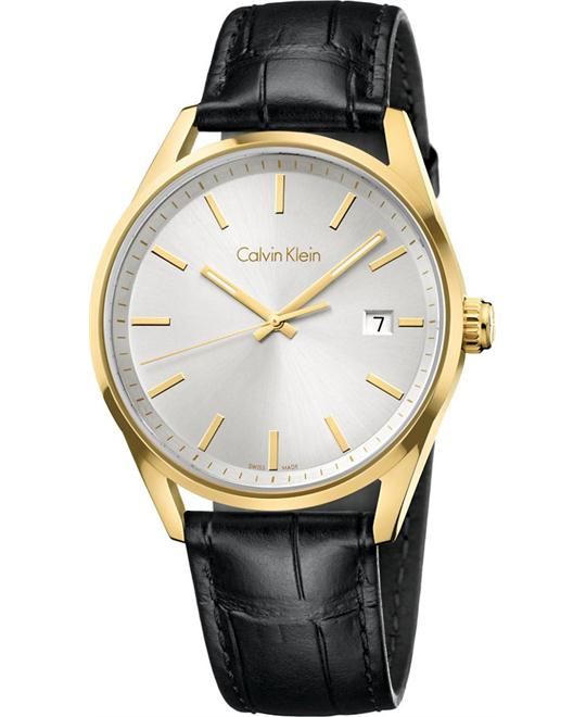 dong ho CALVIN KLEIN WATCH FORMALITY UNISEX - QUARTZ MOVEMENT, 43MM