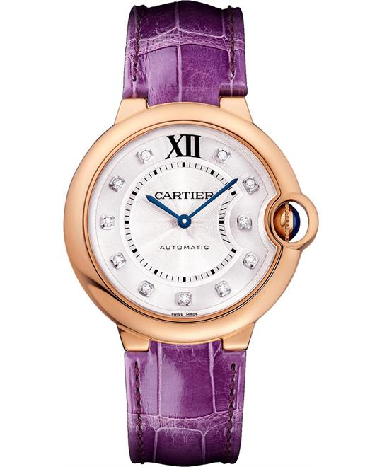 Cartier Ballon Bleu De Cartier WJBB0010 Watch 36mm
